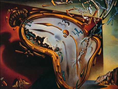 Salvador Dali's Time