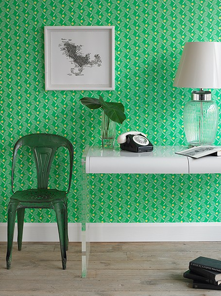 Feng Shui Interior Design Glamorous Green Walls The