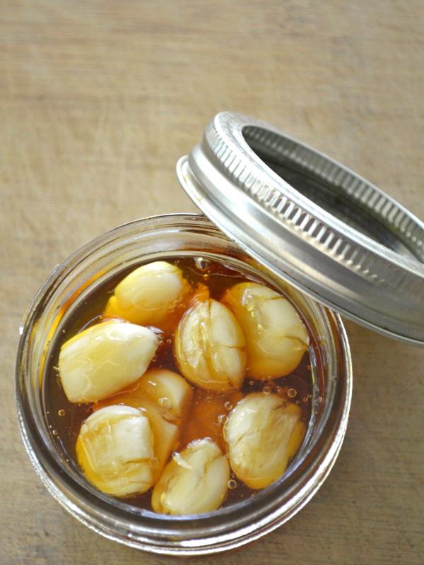 honey infused garlic