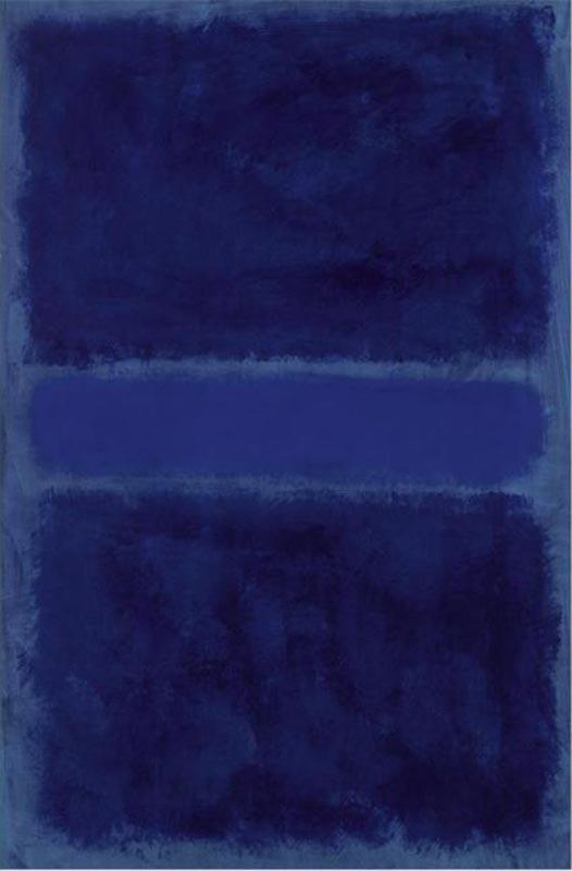blue rothko