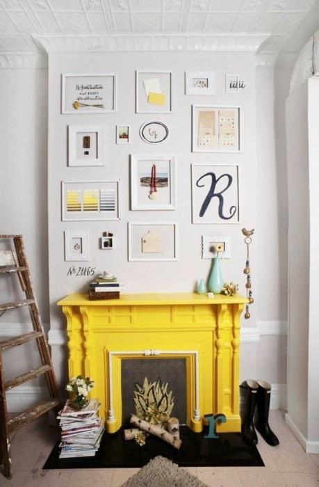yellow mantle