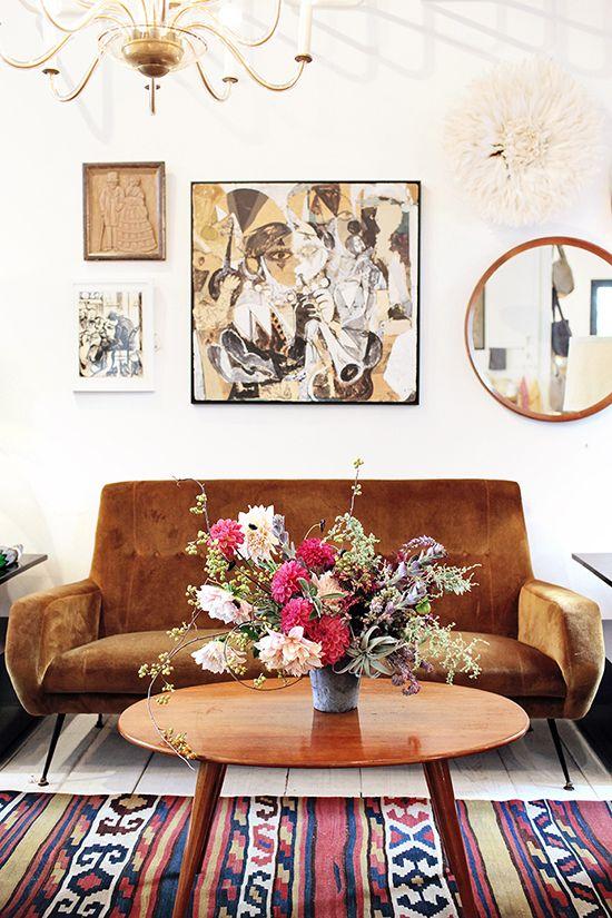earthy livingroom