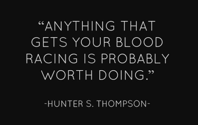 blood racing