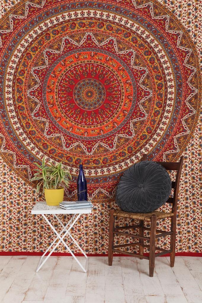 elaborate tapestry