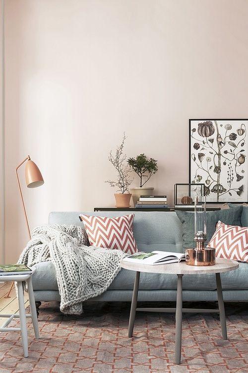 Pink Grey Decor Feng Shui Interior Design Color Power The