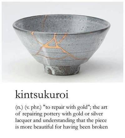 kintsukuori