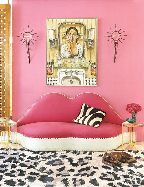 dvf fpink sofa