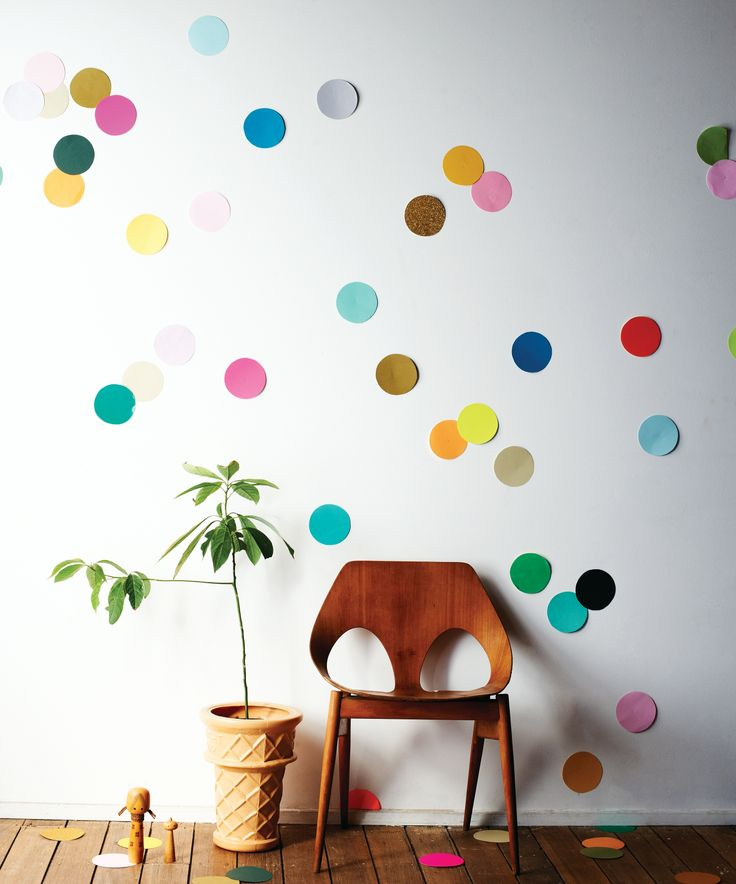 confetti wall