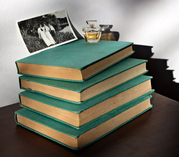 teal books