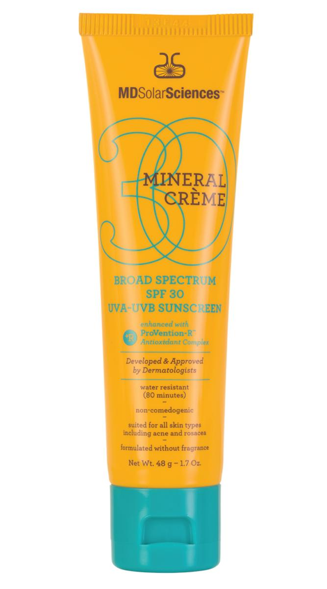 MDSolarSciences MINERAL CRÈME BROAD SPECTRUM SPF 30 UVA-UVB Sunscreen