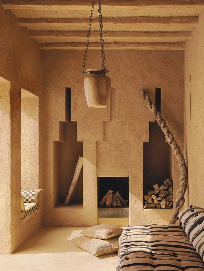 minimalist nature interiors