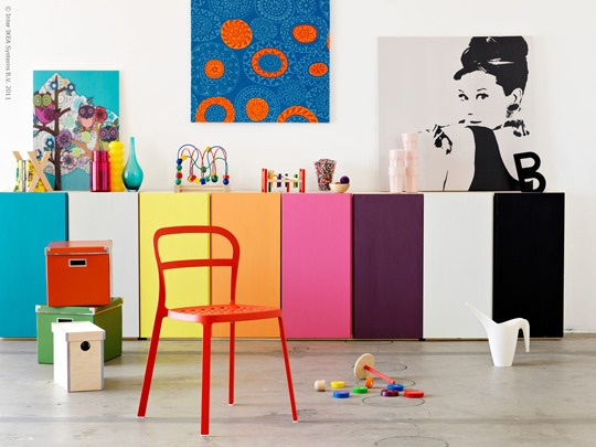 rainbow cabinets