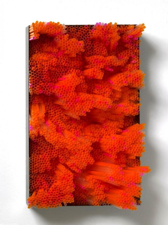 Francesca pasquali feng shui art the tao of dana for Plastic straw art