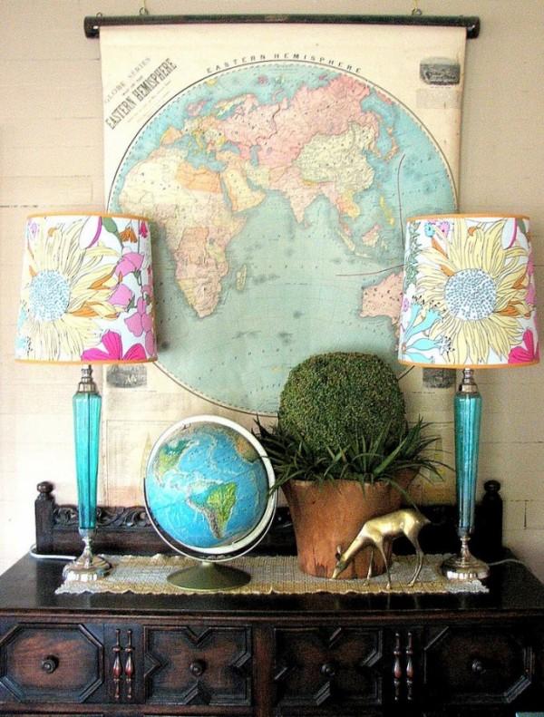 map globe