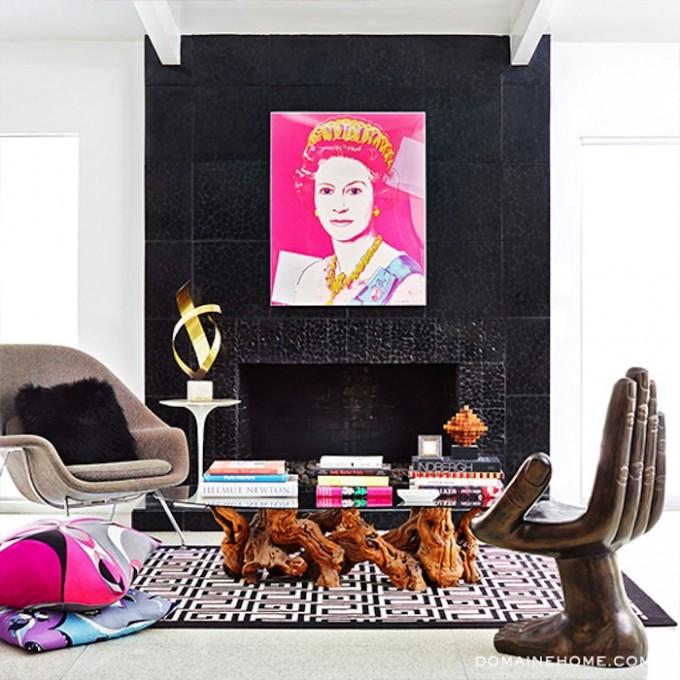 big art on walls, contemporary art at home