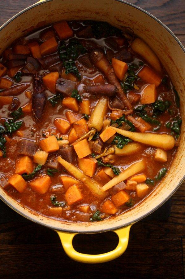 kale root veggie