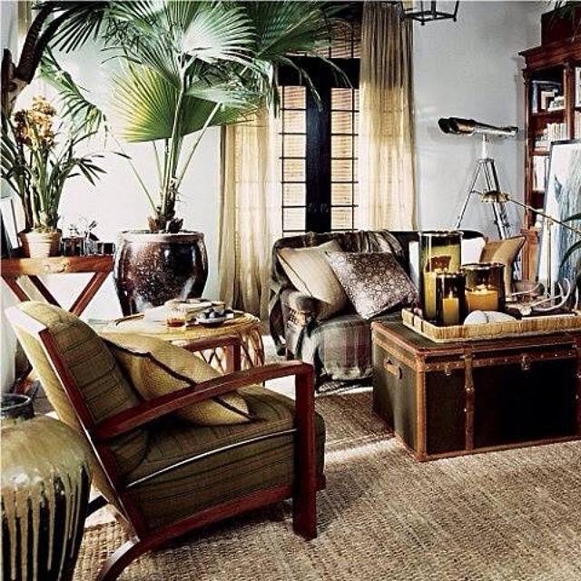 earth tone livingroom