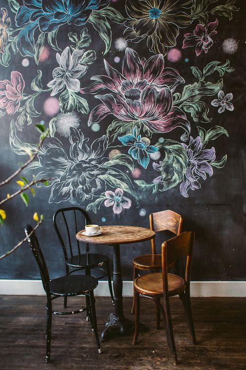 chalkboard murals