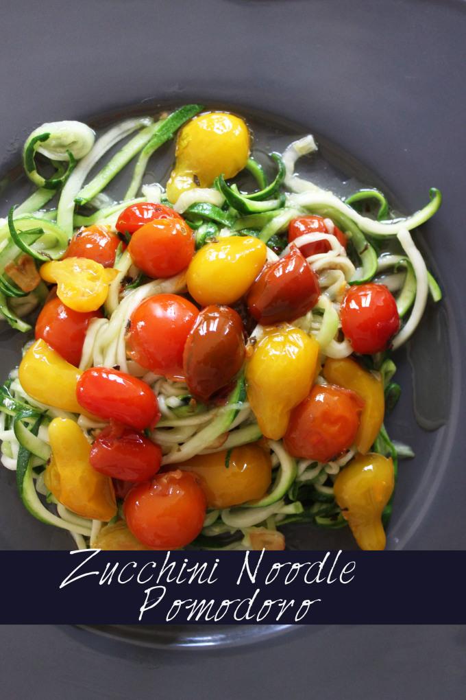 Zucchini noodle pomodoro paleo scd gluten free for Zoodles kitchen set