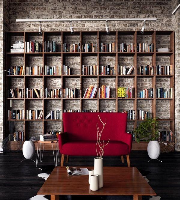 stylish bookshelves