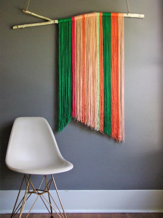 wall hanging yarn