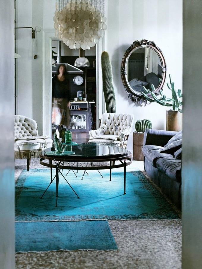 overdyed rug