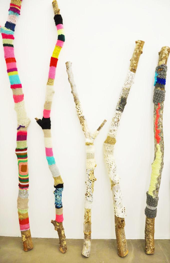 crochet branches