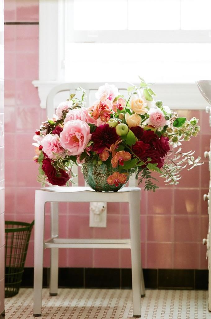 Bathroom Flowers