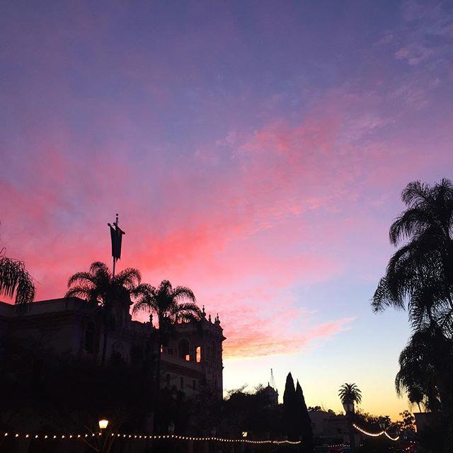 Balboa Park Sunset