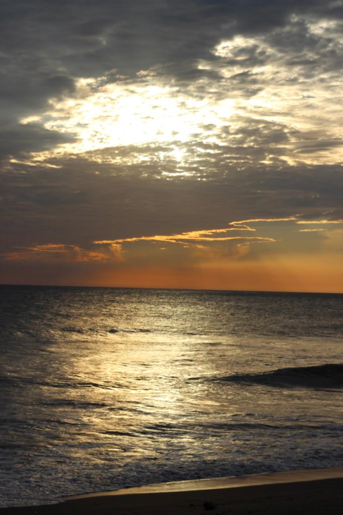 sunset in Leon Nicaraga