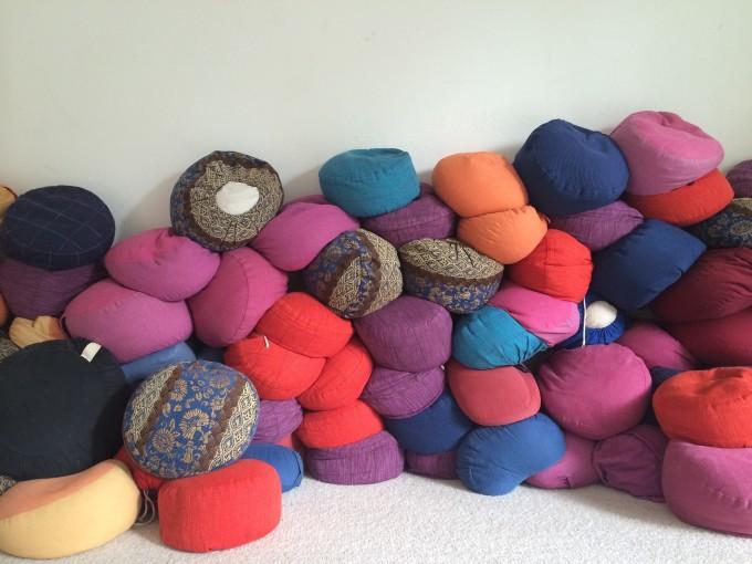 meditation pillows