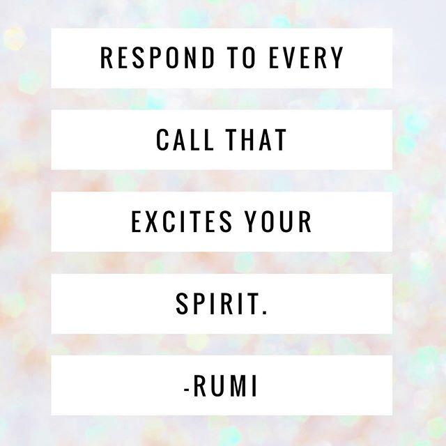 what excites your spirit
