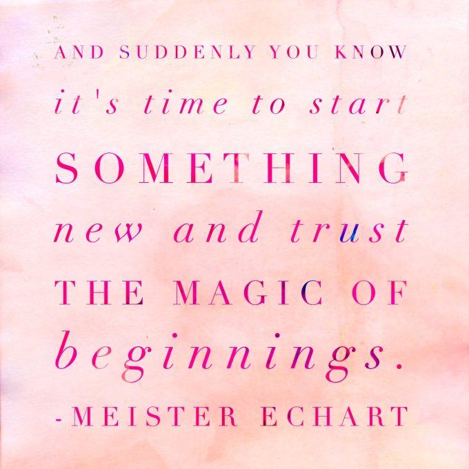 new beginning magic