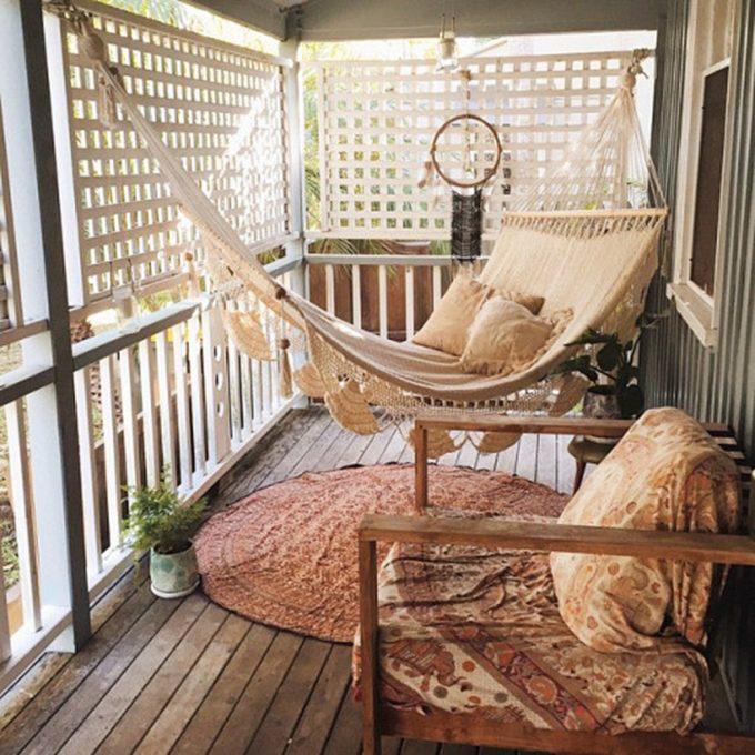 balcony boho