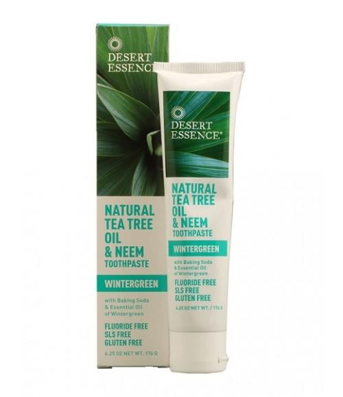desert essence tea tree and neem toothpaste